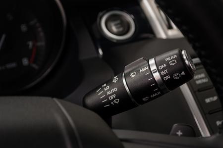 Modern car interior detail background. Фото со стока - 90875491