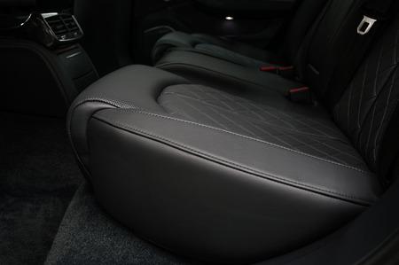 Modern car interior detail. Back passenger seats. Фото со стока - 94365569