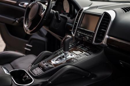 Modern car interior detail. Фото со стока - 94365572