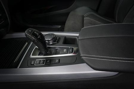 Automatic car transmission. Interior detail. Фото со стока - 94502113