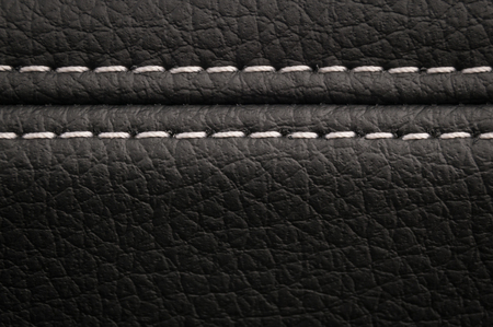 Modern car leather texture background. Interior detail. Фото со стока - 94893793