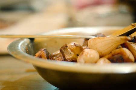 cebollines: Cebollas cambray