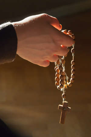 relying: Hands in prayer