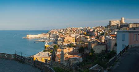 Italy, panoramic view of the Gulf of Gaeta