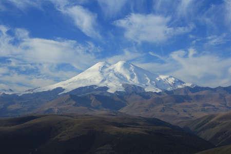 elbrus: Mount Elbrus  North Caucasus  Stock Photo