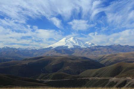 Mount Elbrus  North Caucasus  Stock Photo