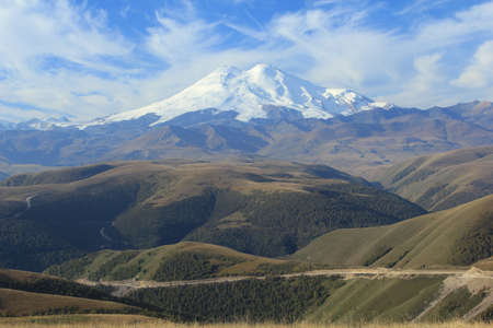 Mount Elbrus  North Caucasus Stock Photo - 18307549
