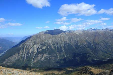 ridges: Creste del Caucaso del Nord Archivio Fotografico