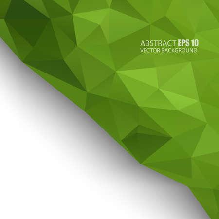 Triangle pattern background Illustration