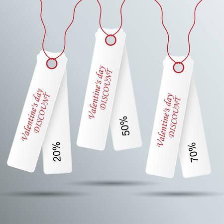 Sale Tags Design Vector