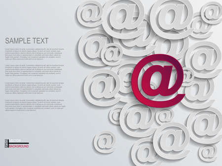 Mail Abstract Background  Vector