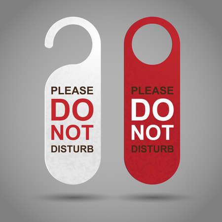 hacer: No molestar