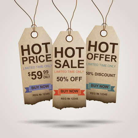 limited time: Hot sale tags