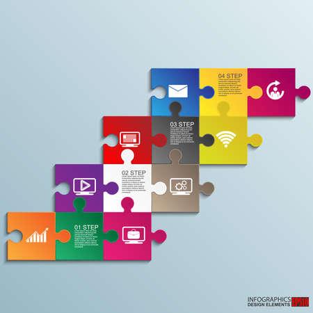 Infographics vector design template Reklamní fotografie - 30006832
