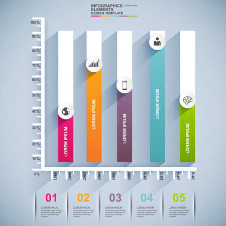 Infographics vector design template Vector
