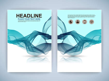 magazine design: Set of Flyer, Brochure Design Templates.