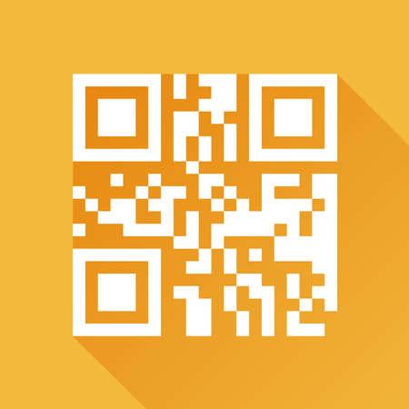 Flat QR code