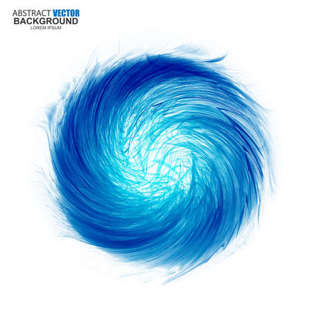Abstract futuristic wavy background Vector