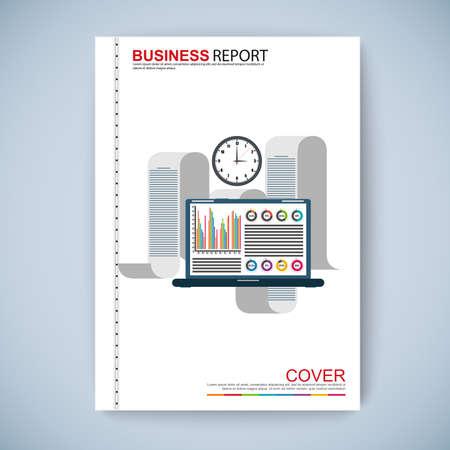 wiki: Cover Book Digital Design Minimal Style Template Illustration