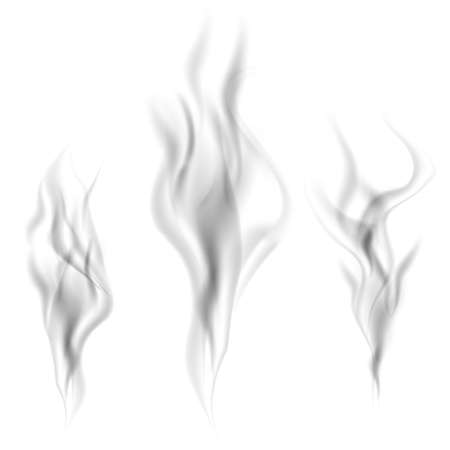 Collection of vector smoke