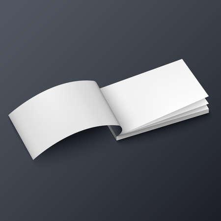 chequera: Tarjeta de visita folleto Bloc de notas o un folleto plantilla maqueta
