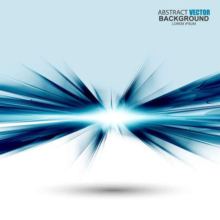 Abstracte futuristische blauwe golvende achtergrond