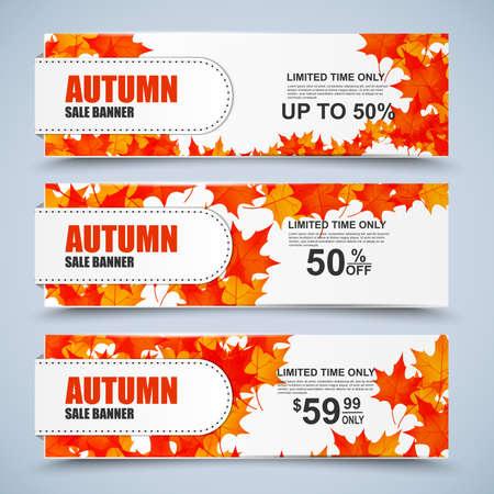collection: banners de venta colección de otoño