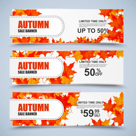 collection: Collection autumn sale banners