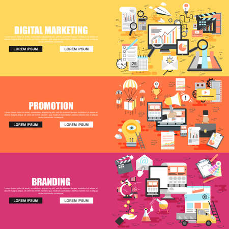 business marketing and promotional campaign