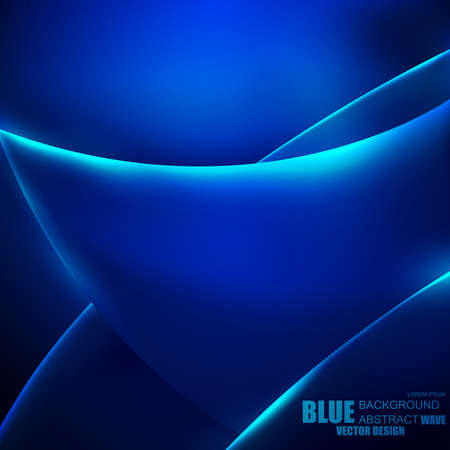 fluorescence: Abstract blue background vector design. Can be used screensaver on your desktop or mobile apps, poster, banner, magazine.