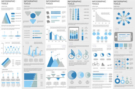 tooltip: Business infographic elements data visualization vector design. Can be used for steps, options, business processes, info graphics, workflow, diagram, flowchart concept, timeline, marketing icons.