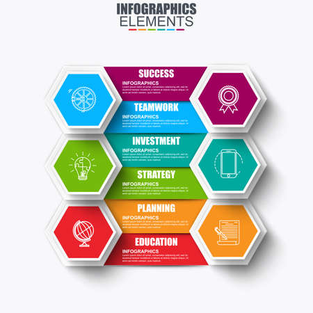 mobilephone: Infographic business data visualization vector design template. Can be used for steps, options, parts or processes, workflow, diagram, chart, creative concept, marketing icons, info graphics.