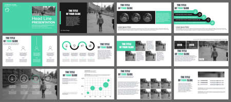 Business presentation slides templates from info-graphic elements. Can be used for presentation, flyer and leaflet, brochure, corporate report, marketing, advertising, annual report, banner, booklet.