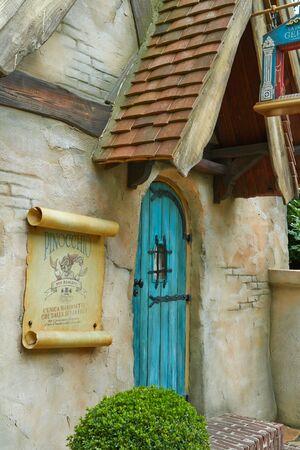 Kaatsheuvel, Netherlands - July 30 2018. Fantasy themed amusement park Efteling.
