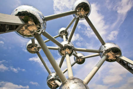 "Wonderful and famous building ""Atomium\"" in Brusell"