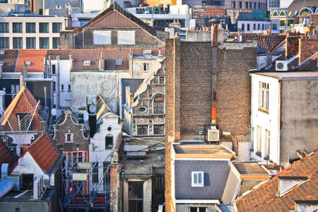 belgian: Mixed architecture of Belgian capital