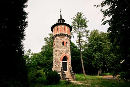 water tower: Old water tower near the Sychrov castle