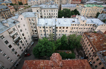 rooftops: Old Moscows rooftops