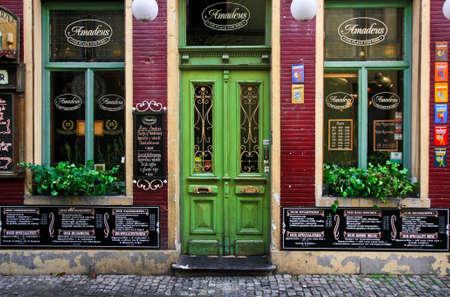 GENT, BELGIUM -NOV 07,2015: Elegant restaurant