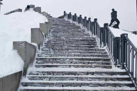 Kazan winter landscape