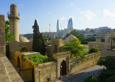 Amazing Postal Card like View of the Main Attractions of Baku 報道画像