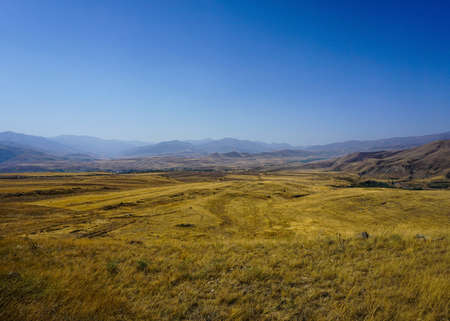 Sisian Landscape Picturesque Breathtaking Steppe Prairie View