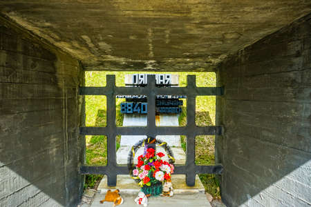 Khatyn Memorial Complex Victim Numbers which have been Killed by German Fascists