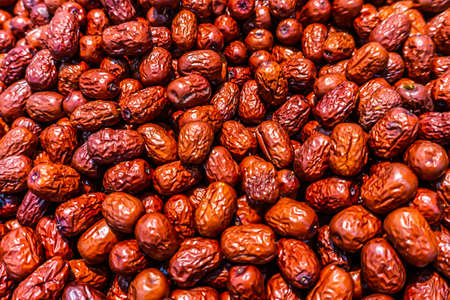Focused Appealing Chinese Dried Jujube Heap Amount