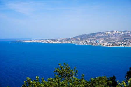 Hamat Our Lady of Noorieh Greek Orthodox Christian Monastery Viewpoint of Chekka and Sea View