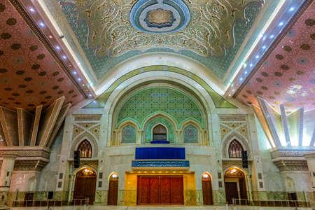 Tehran Harame Motahar Ziyarat Imam Ruhollah Khomeini Shrine Mausoleum Editorial