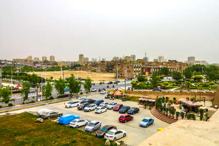 Kashgar Old Town External Wall Public Parking Lot View Point