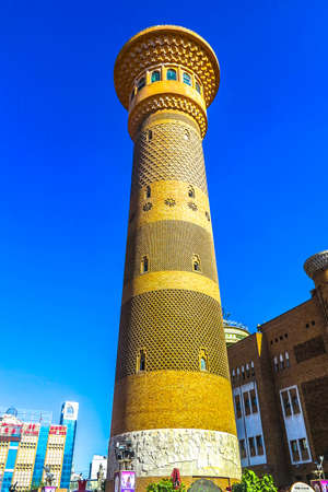 Urumqi Xinjiang International Grand Bazaar Sightseeing Tower