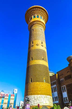 Urumqi Xinjiang International Grand Bazaar Sightseeing Tower Imagens - 117097663