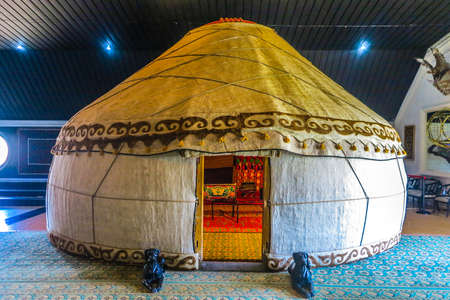 Cholpon Ata Rukh Ordo Cultural Center Traditional Kyrgyz Yurt Editöryel
